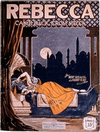 Rebecca Came Back from Mecca, sheet music