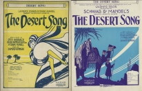 The Desert Song sheet music
