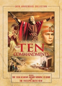 Ten Commandments starring Charlton Heston
