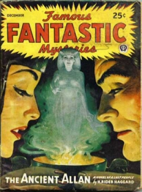Famous Fantastic Mysteries, The Ancient Allan, pulp fiction novel