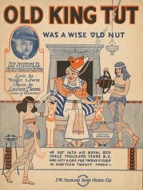 Old King Tut Was a Wise Old Nut sheet music cover