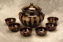 Photo of soup tureen and matching bowls