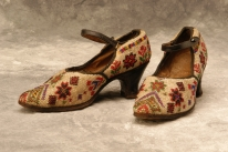 Photo of beaded shoes