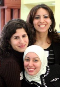 Photo of Arab American women