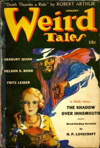 Image of Weird Tales pulp fiction magazine cover