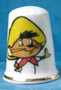 Photo of 1970 Speedy Gonzales thimble