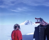 Photo of George Doumani in Antartica