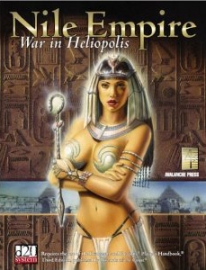Image of book cover Nile Empire: War in Heliopolis,