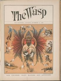 "Image of ""The Chinese : Many Handed But Soulless"" The Wasp cover"