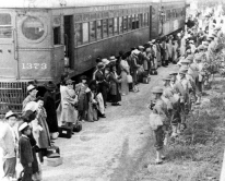 Photo of Japanese American Internment