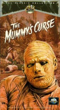 Image of VHS cover The Mummy's Curse