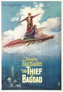 Image of The Thief of Bagdad, 1924 film poster