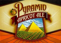 Image of Advertisement for Pyramid Apricot Ale