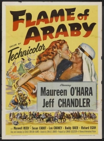 Image of The Flame of Araby film poster